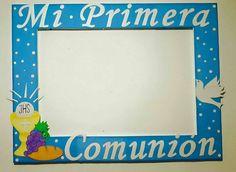 Foto Frame, Ideas Para Fiestas, First Communion, Hama Beads, Diy Party, Photo Booth, Selfies, Ale, Appreciation
