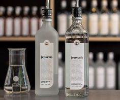 Staff at #BreadStreetKitchen offered Jensen's Gin as an alternative to Old Tom Ransom. I should try it out!