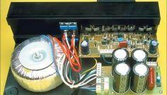 Amplificador Subwoofer Transistorizado de 200 Watts