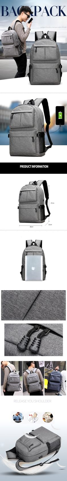 Unisex Design Backpack Book Bags for School Backpack Casual #Rucksack #Daypack #Oxford #Canvas #Laptop #Fashion Man #Backpacks