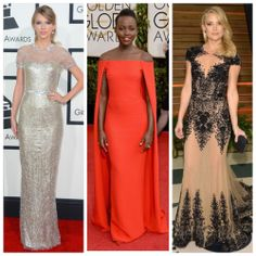 My best dressed picks for the 2014 award season:  Taylor Swift in Gucci Premiere - Grammys Lupita Nyong'o in Ralph Lauren - Golden Globes Kate Hudson in Zuhair Murad - Vanity Fair After Party