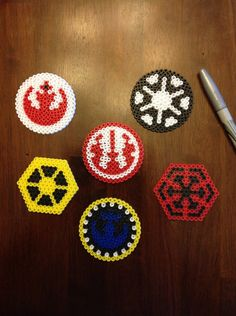 Star wars perler bead by Mattsterpieces on Etsy