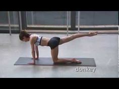 Darcey Bussell, Pilates For Life, Part 4.Main Program - Abdominals.