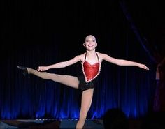 Maddie at the kef kids cabaret in NYC last night