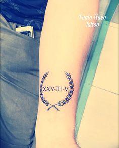 Corona Laurel Tattoo