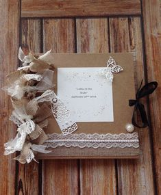 """❤️"""" LETTERS TO THE BRIDE"""" ❤️ Scrapbook... GREAT BRIDE TO BE GIFT ❤️  