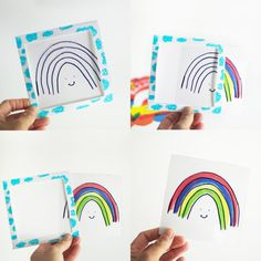 Rainbow Magic Trick Card DIY