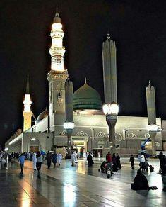Al-Masjid Al-Nabawi (The Prophet's Mosque).Medina, Arabia Saudita