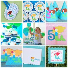 The MERMAID Collection Personalized by maryhadalittleparty