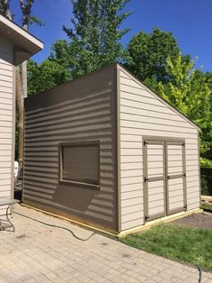 30 best portable sheds images on pinterest metal roof minnesota 10x16 utility shed with lean to roof lp lapsiding to match includes solutioingenieria Choice Image