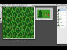 German tutorial: How to make a regular Photoshop-pattern for fabric