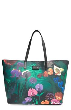 MARC BY MARC JACOBS x Disney® 'Alice in Wonderland - Metropoli' Travel Tote available at #Nordstrom