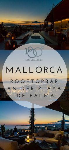 Mallorca Geheimtipp an der Playa de Palma - Rooftop Bar mit Restaurant , der schönste Sonnenuntergang an der Playa #mallorca #mallorcaisland #palmademallorca #balearen