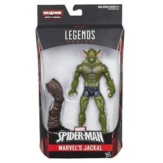 Marvel Spider-Man Legends Series 6-inch Action Figure - Marvel' s Jackal