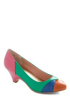 I'm a sucker for multi-colored shoes $65
