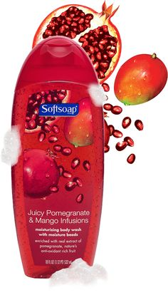 Juicy Pomegranate & Mango Infusions. I have sensitive skin and can't use that many types of body wash, but I really like this. However, I am thinking of trying an antibacterial body wash, just need to find the right product here in Spain.