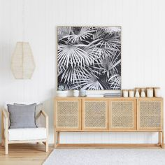 Rattan cabinets - fab boho inspiration for modern dollhouse makeover. DIY modern dollhouse furniture and ideas. Home Living Room, Interior, Beach House Decor, Home Decor, House Interior, Coastal Living Rooms, Modern Dollhouse Furniture, Coastal Interiors Design, Home And Living