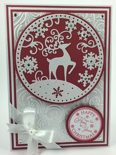 christmas cards using a reindeer - Google Search