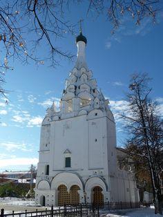 Ярославль, колокольня церкви Рождества Христова