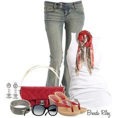 """""""Chanel Hula Hoop Bag"""" by brendariley-1 on Polyvore"""