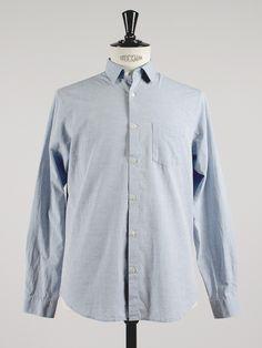Roy Pocket Shirt Blue- Hope A/W-15 - | APLACE Fashion Store & Magazine