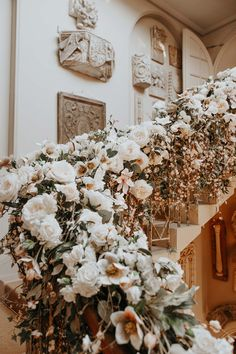 Lydia Elise Millen Venue styling & floristry by Maison De Fleurs Winter Wedding 2017 Aynhoe Park