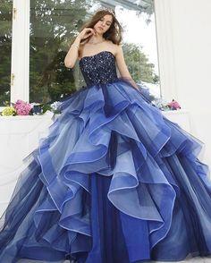 #weddingdress #dress #couturefashion #couture #ballgown#instafashion #ウエディングドレス#ドレス#プレ花嫁 #カラードレス #カクテルドレス #marry花嫁 #marryxoxo #2017春婚 #2017夏婚 #結婚式準備 #きれい #ネイビー#大人可愛い #kiyokohata #キヨコハタ KH_0398