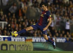 Sergio Busquets... he can be quite brilliant if he can lay off the acting classes