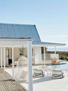 Beach house in south africa dream beach houses, white beach houses, m Beach Cottage Style, Coastal Cottage, Coastal Homes, Beach House Decor, Beach Homes, Coastal Style, House On The Beach, Beach House Designs, Coastal Living