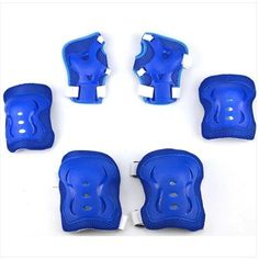 Kids 6 Pcs/Set Roller Skating skateboard Elbow Knee Pads Sports Safety Pads  Joint Guard Protective Pad Extreme sports gear Set
