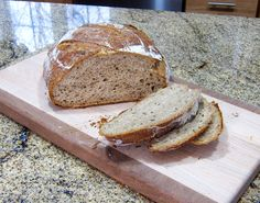 Crusty rye bread with beer, no kneading required. http://southernfood.about.com/od/yeastbreads/r/Beer-Rye-Bread-No-Knead.htm