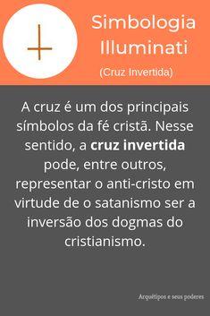 Cruz Invertida Symbols, Anime, Witchcraft Symbols, Christianity, Quotes Motivation, Spirituality, Knowledge, Study, Gold