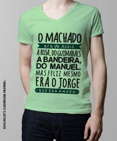 O Machado era do Assis - Gola V Verde