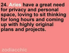 Aries baby!