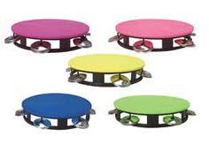 Cinco de Mayo Favors & Prizes Neon Tambourine Image @Amazing Avocado  #CincoAvocados