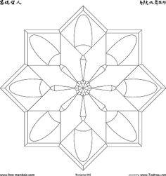 6 tane bedava serbest Mandala'larin bilgi-sayar'a gecirilmesi