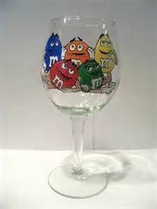 Candy - Hand Painted Wine Glasses