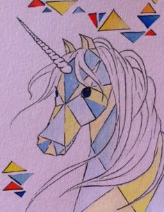 3D Stampa Unicorno Stampa Animale Calzini Donna Caviglia sockshorse Magic 14 Designs
