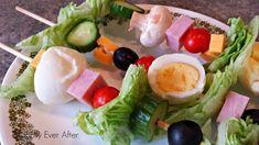 salad kebabs - Google Search