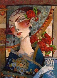 David Galchutt painting  vid Susans Art Loft FB
