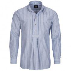 Trachtenhemd Regular Fit von Hammerschmid mit Stehkragen Jeans, Shirt Dress, Fit, Mens Tops, Shirts, Dresses, Fashion, Chic, Dressing Up