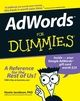 AdWords For Dummies (0470152524) cover image