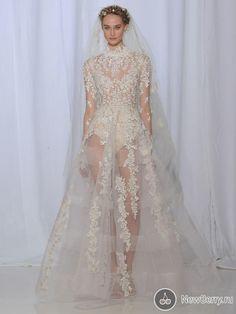 Свадебные платья Reem Acra осень-зима 2017-2018