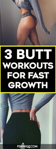 How To Get A Bigger Butt Using Weights - These butt exercises with weight will help to trigger your glutes to grow bigger, rounder and firmer. If you are doing any bigger butt workouts then you need t (Health And Fitness Clothes) Fitness Workouts, Fitness Motivation, Butt Workouts, Fitness Goals, At Home Workouts, Workout Routines, Workout Videos, Body Fitness, Health Fitness