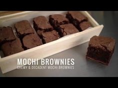 Mochi Brownies Sometimes when I'm trying to figure out what to make, I will aimlessly wander from the refrigerator to the pantry, hoping something magically ...