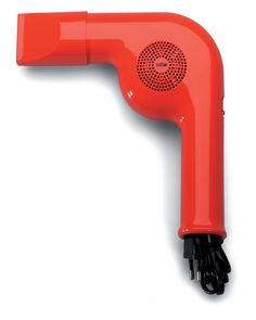 Nice color, and honest design, like a archetype hairdryer. Like also the way to clean up the cable.by Braun Id Design, Retro Design, Logo Design, Graphic Design, Braun Hair Dryer, Design Industrial, Industrial Office, Modern Industrial, Product Design