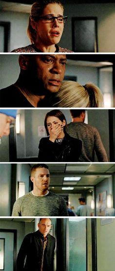 Everyone's reaction to losing Laurel :( #Arrow #Season4 #4x18