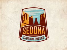 Unique Logo Design, Sedona #Logo #Design (http://www.pinterest.com/aldenchong/)