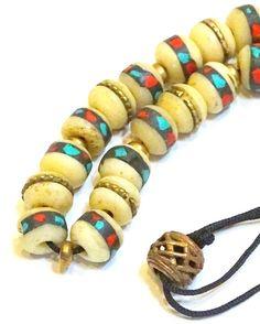 Komboloi Greek Turkish worry beads Tibetan mala by FIPDesigns