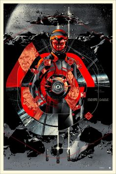Mondo Unveils Martin Ansin's Posters For ENDER'S GAME